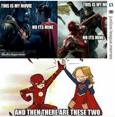 It's just like marvel versus DC obviously DC is better #AlsoBrothersAndSistersVersus Best friends