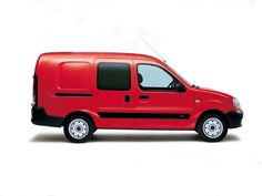 Red Renault Kangoo