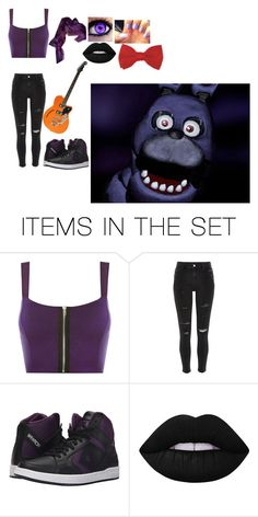 Bonnie (Cosplay Outfit Idea 1) by slicer-seductress on Polyvore