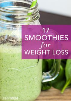 Lose weight with the help of these delicious smoothies!