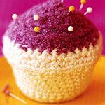Crocheted cupcake - Canadian Living
