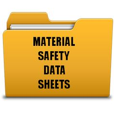 What are Material Safety Data Sheets (MSDS)?  http://www.msds.com/