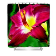 Awesome lily flower shower curtain.  Image available on several product types.  Photography and art by Smilin' Eyes Treasures.