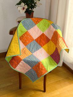 Cute baby quilt. Handmade.