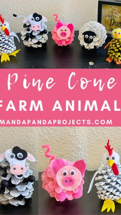 Toddler Paper Crafts, Easter Crafts For Kids, Summer Crafts, Holiday Crafts, Kindergarten Crafts, Preschool Crafts, Farm Animals, Craft Activities For Toddlers, Farm Crafts