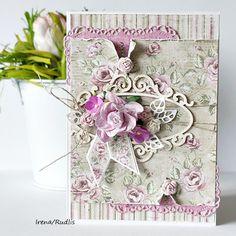 Romantic card - Maja Design
