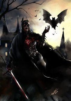 This is THE Drak Knight! A medieval Batman! lol Batman - The Vampire Knight Batman Redesign, Batman Armor, I Am Batman, Funny Batman, Batman Stuff, Superman, Batman Wallpaper, Hd Wallpaper, Wallpapers