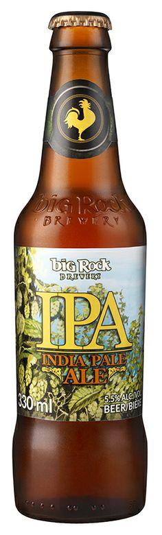 Big Rock IPA #craftbeer #bigrockbeer http://bigrockbeer.com/beer/signature-series