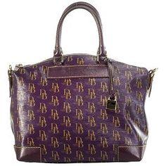 Purple Dooney and Bourke purse - HAVE