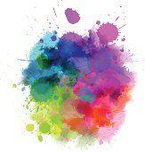 watercolor splatter - Google Search