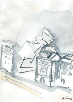 Daniel Libeskind drawings