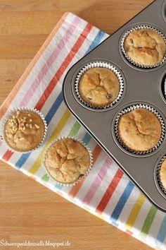 Bananen-Joghurt-Muffins