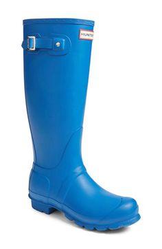 Hunter Hunter 'Original Tall' Rain Boot (Women) available at #Nordstrom