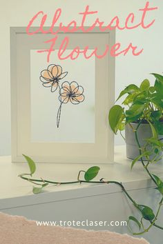 Brighten up any space with this abstract flower art. We made this design on our Speedy 360 80 watt laser. Follow the link for a step-by-step tutorial! #troteclaser Trotec Laser, Abstract Flower Art, Modern Wall Art, Flower Decorations, Space, Create, Link, Gifts, Design