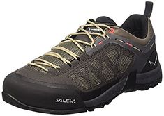 Salewa Mens Firetail 3 Shoes Black Olive  Papavero 8  ETip Glove Bundle >>> You can find more details by visiting the image link.(This is an Amazon affiliate link)