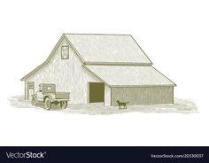 Meat Shop, Adobe Illustrator, Pet Dogs, Vector Free, Barn, Pdf, Trucks, Illustration, Converted Barn