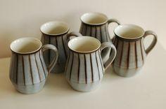 Denby - Studio Pattern Mugs (My all-time favourite mugs!), $165