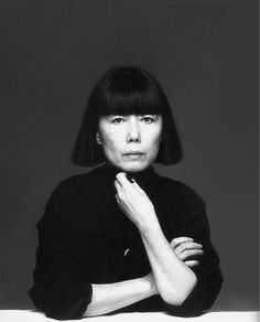 "REI KAWAKUBO   ""In the 1980s, together with Yohji Yamamoto, she revolutionized Paris fashion, by introducing a style of dress that merged Western and Japanese influence and was notably distinct from 1980s high fashion,"" Granata explains. ""Following the principle of wabi-sabi, her 1980s work employed 'poor' and seemingly battered material and posed a challenge to body-hugging silhouette popular during the period."" One of the most beloved (and unconventional) designers of our time."