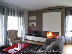 Chimenea Quento modelo Eiras con Stuv 21/105 | www.quento.es… | Flickr