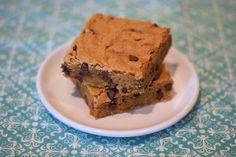Sarah Bakes Gluten Free Treats: gluten free vegan blondies