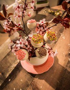 Cake Pops bouquet di primavera