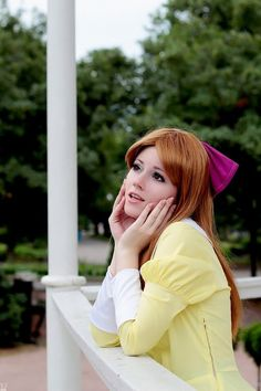 "Such a well done cosplay of Renge from ""Ouran High School Host Club"". I wish I could pull off wearing that bow."