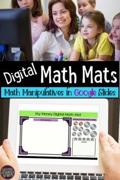 Teaching or tutoring virtually? Check out these digital math manipulatives for modeling mathematical concepts online. Add them to Google Slides or Google Classroom assignments or share your screen in Zoom or Google Meet. Great for teaching first grade, second grade, or kindergarten math during distance learning! Teaching Second Grade, Third Grade, Elementary Math, Kindergarten Math, Math Tools, Math Manipulatives, Common Core Ela, Teaching Phonics, 2nd Grade Classroom