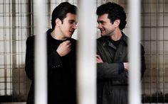 Frendi (Freddo/Dandi) Romanzo Criminale series 2. I was genuinely sad when this almost bromance was no more