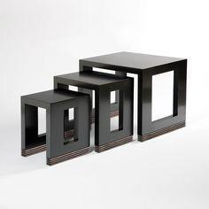 Mesa nido negra