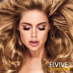 Doutzen Kroes L'Oreal Contract F/W 12 (Images from Facebook) (L'Oreal) make-up and hair