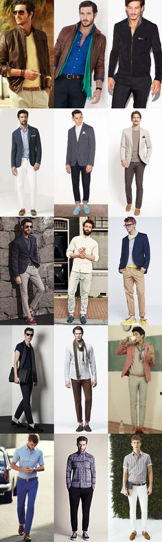 Men's Dress Down Friday Outfit Examples - Using Accents To Individualise Your Look