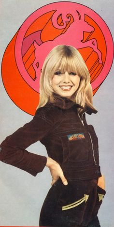 Model for Mr Freedom outfit 1970s
