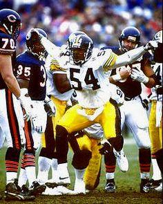 Hardy Nickerson (LB) ('87-'92) - Pittsburgh Steelers