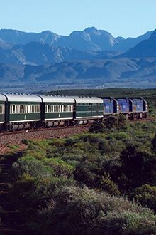 Soak up the countryside aboard the ravishing Rovos Rail from Tansania to South Africa
