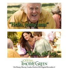 Do you remember this Timothy Green moment?