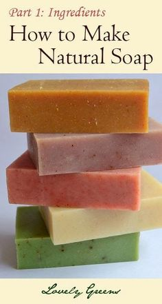 Lovely Greens   The Beauty of Country Living: Natural Soapmaking for Beginners - Ingredients