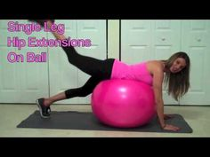 ▶ 3 Best Butt Exercises (You Can Do At Home) - YouTube These 3 #Butt #Exercises will help lift and tone the #glutes.  No Equipment needed but a ball.