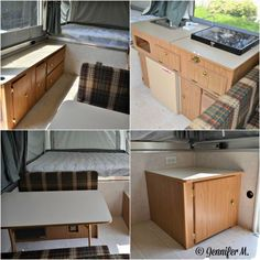 Jennifer's Pop Up Camper Makeover - The Pop Up Princess