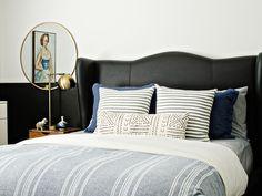 Navy & black bedroom // brittanyMakes