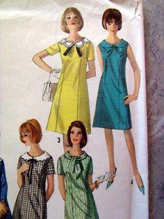 Vintage Dress Sewing Pattern Several by DeborahsForgetMeNots, $4.50