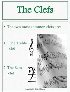 A 24 page PDF file introducing students to the lines and spaces of the treble and bass clef!   $