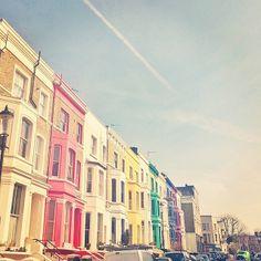 London-rainbow-houses by night.owl, via Flickr