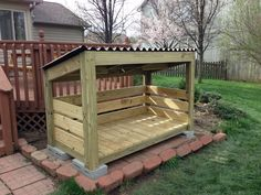Trendy pallet storage shed firewood rack 51 Ideas - Wood Storage - Outdoor Firewood Rack, Firewood Shed, Firewood Storage, Wood Storage Sheds, Pallet Storage, Garage Storage, Diy Storage, Outdoor Storage, Bbq Wood