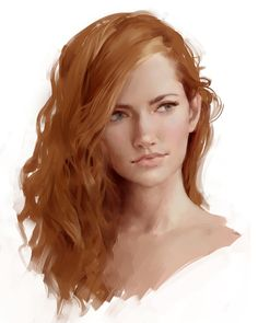 Painting Face (speedpaint video test) by Selenada.deviantart.com on @DeviantArt