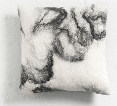 Japan, home collection pure by The Soft World. Sheep wool with natural black alpaca hair.