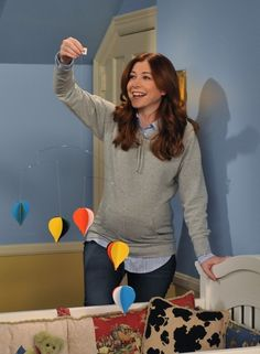 """Alyson Hannigan was pregnant while filming many season 4 episodes. 