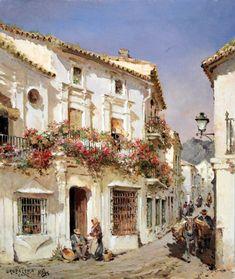 "Manuel Fernandez (Spanish, born 1927) ""Grazalema"""