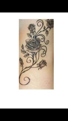 I would do red roses and add the kids names in there