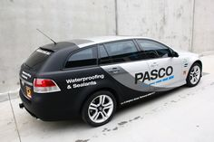 Pasco Half Wrap Side View - design/print/install by Sign Dazign, Melbourne, Australia