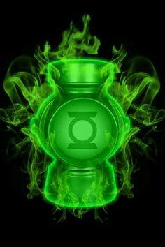 Firey Green Lantern battery by_kalel7-d4zrlxk